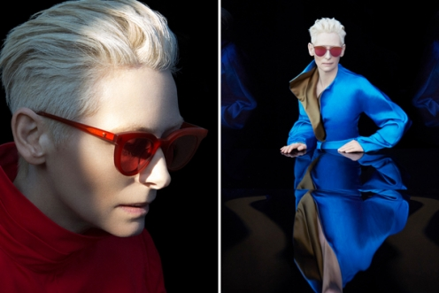 Tilda Swinton w Gentle Monster