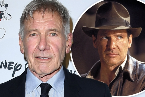 Harrison Ford znów jako Indiana Jones!
